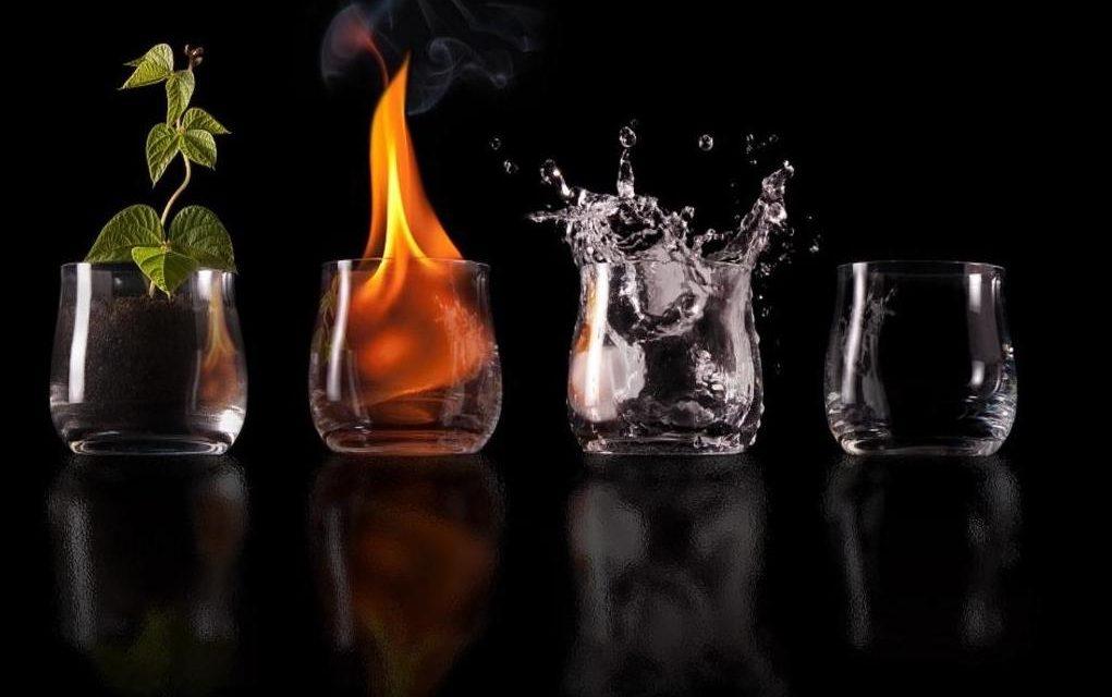 Os Quatro Elementos de acordo com a tradição hermética