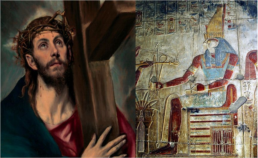 Jesus e Hórus