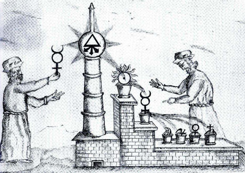 princípios da alquimia