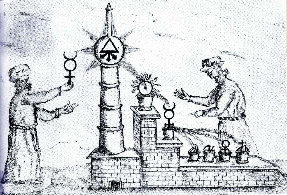 Princípios da Alquimia: Mercúrio, Enxofre e Sal