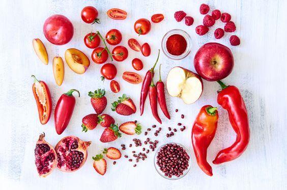 alimentos para desbloquear o chakra raiz